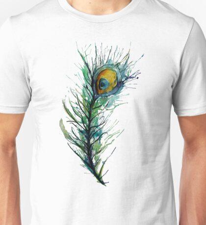 peacock rainbow. Unisex T-Shirt