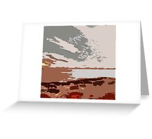 University Endowment Lands from Lighthouse Park Greeting Card