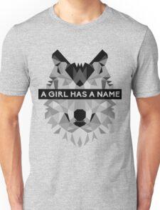 A Girl Has A Name Arya Stark - Black Unisex T-Shirt