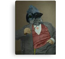 Gentlemen's club of exquisite plumage. Canvas Print