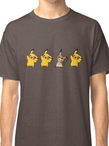 Pikachu, Pikachu, Mimikyu, Pikachu  Classic T-Shirt