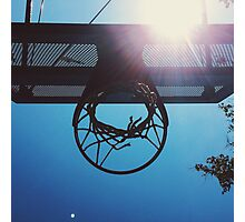 Shining hoops star Photographic Print