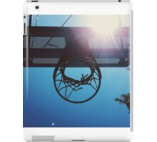 Shining hoops star iPad Case/Skin