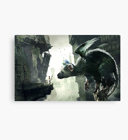 The Last Guardian Poster  Canvas Print