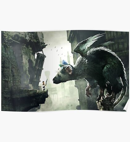The Last Guardian Poster  Poster