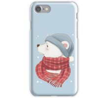 Polar Bear Who Hates The Cold iPhone Case/Skin