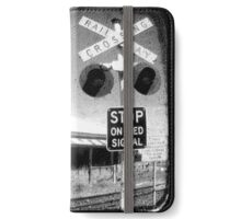 Stop on Red iPhone Wallet/Case/Skin