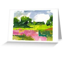 Late spring 4 Greeting Card