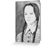 Wednesday Addams - I Hate Everything Greeting Card
