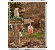 Cottages for Rent iPad Case/Skin