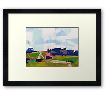 Late summer 7 Framed Print