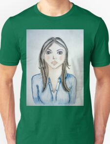 Blue blouse girl T-Shirt