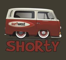 VW Camper Van Shorty by velocitygallery