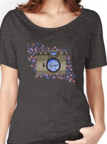 Focus- Vintage Camera Women's Relaxed Fit T-Shirt