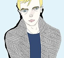 Lucien Carr  by ronsmith57