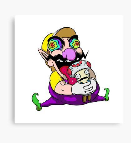 Lickin' Toads Canvas Print
