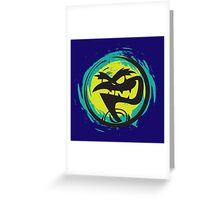 PSYCROW Greeting Card