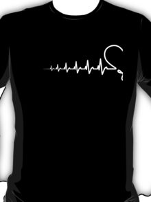 Hearbeat Couples Design (For Him) T-Shirt