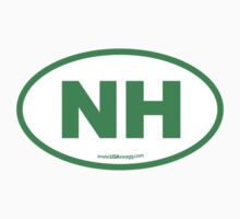 New Hampshire NH Euro Oval GREEN by USAswagg2