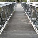 Parsley Bay Footbridge. by Trish Meyer