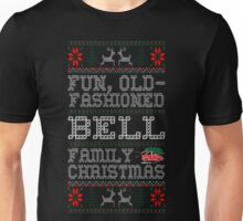 Fun Old Fashioned Bell Family Christmas Ugly T-Shirt Unisex T-Shirt