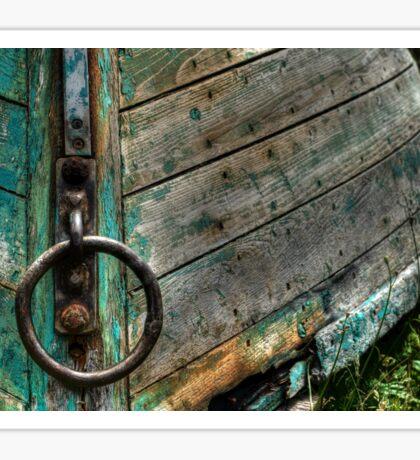 Lunenburg boat at rest! Sticker