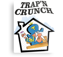 TRAP'N CRUNCH Metal Print