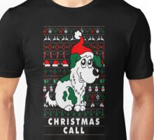 Christmas Call Dog Lover Ugly Sweater T Shirt T-Shirt Unisex T-Shirt