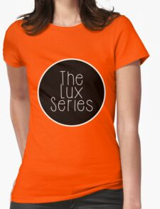 The Lux Series - Black Circle Womens Fitted T-Shirt