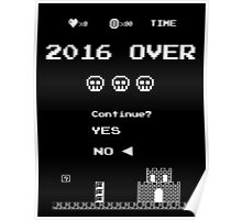 Game Over in 2016 - No Poster