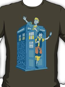 Most Excellent Time Travellers T-Shirt
