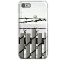 Barricades iPhone Case/Skin