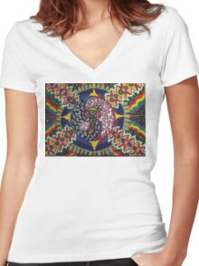 Onelove Women's Fitted V-Neck T-Shirt