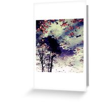 Water and Fall Greeting Card