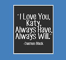 Lux Series Quote - I Love You, Katy by emilyandhermusi