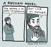 A Russian Novel by reparrish