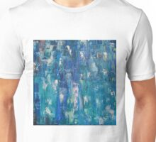 Abstract blue   Unisex T-Shirt