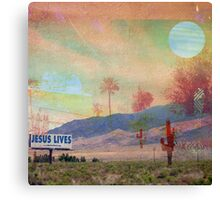 in the valley of the Sun Canvas Print