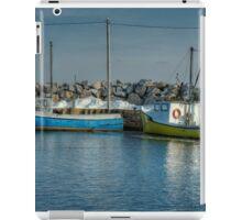 Fox Point Lobster Boats iPad Case/Skin
