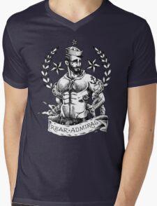 Rear Admiral Mens V-Neck T-Shirt