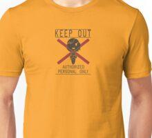 MGSV Warning Sign - Quiet Unisex T-Shirt