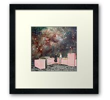 Luna Kitchen with a View Framed Print