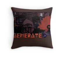 Generate_Mashup Throw Pillow