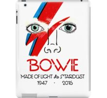 A Tribute to Bowie iPad Case/Skin