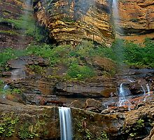 Wentworth Falls, Blue Mountains by Kevin McGennan