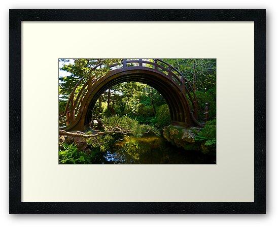 Drum Bridge by Barbara  Brown