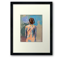 String attached 6 Framed Print