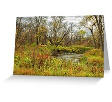 Autumn Morning on the Buffalo River Greeting Card