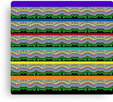 Psychedelic Flow Canvas Print