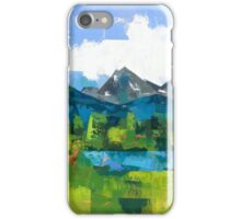 Teton iPhone Case/Skin